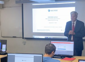 Jim Soltesz Teaching Students at UMD